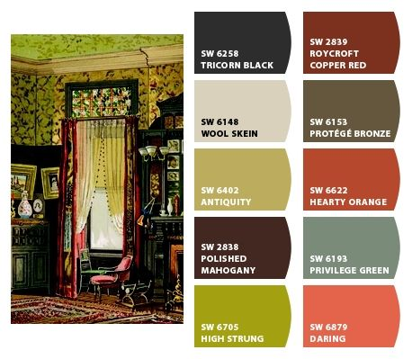 Paint Colors From Chip It By Sherwin Williams Bohemian