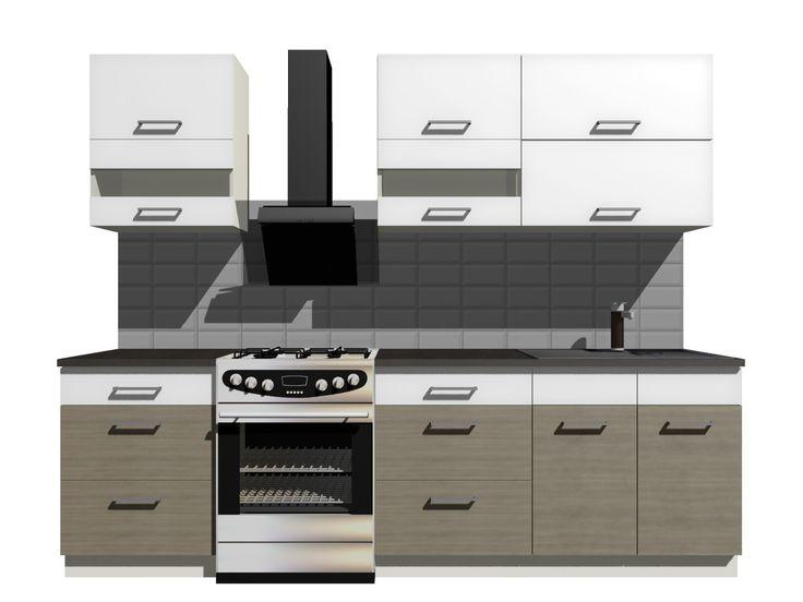 CUBA LIBRE komplet szafek kuchennych 2 m Rzeszów