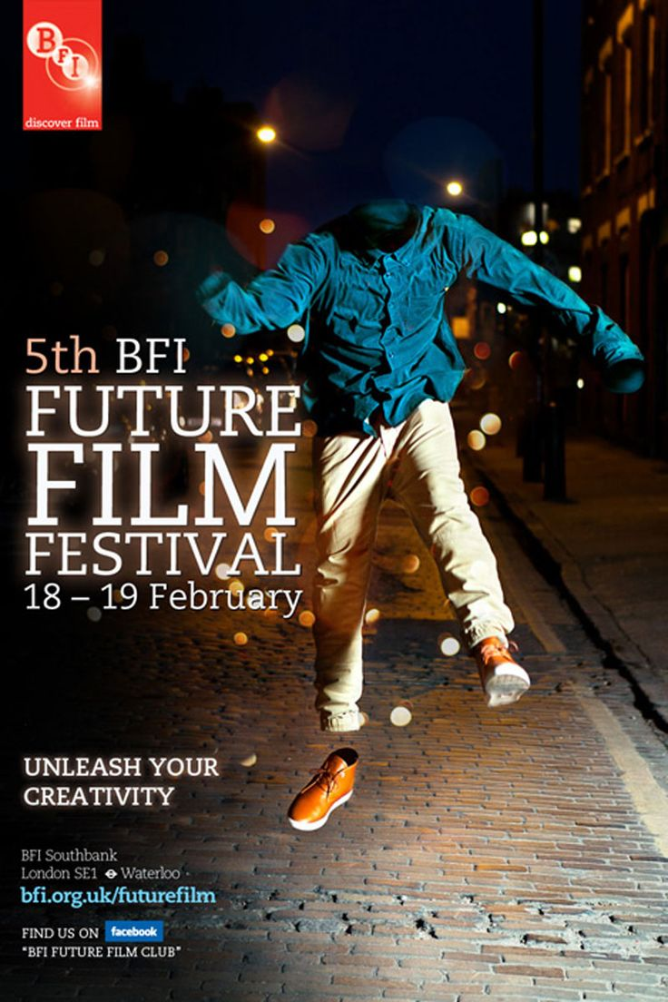 Film Festival Posters: BFI Future Film Festival