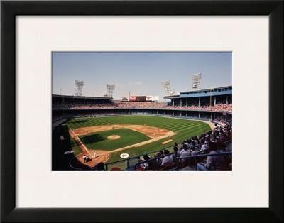 """Tiger Stadium, Detroit23 x 18""""   $126.99    Framed Art Print by Ira Rosen at Art.com"""