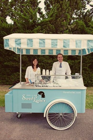 How cool would it be to have an ice cream stand instead of drinks or an afternoon tea post ceremony :-).