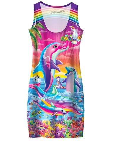 LISA FRANK CLOTHING!!! I need one of each.  Not even kidding.