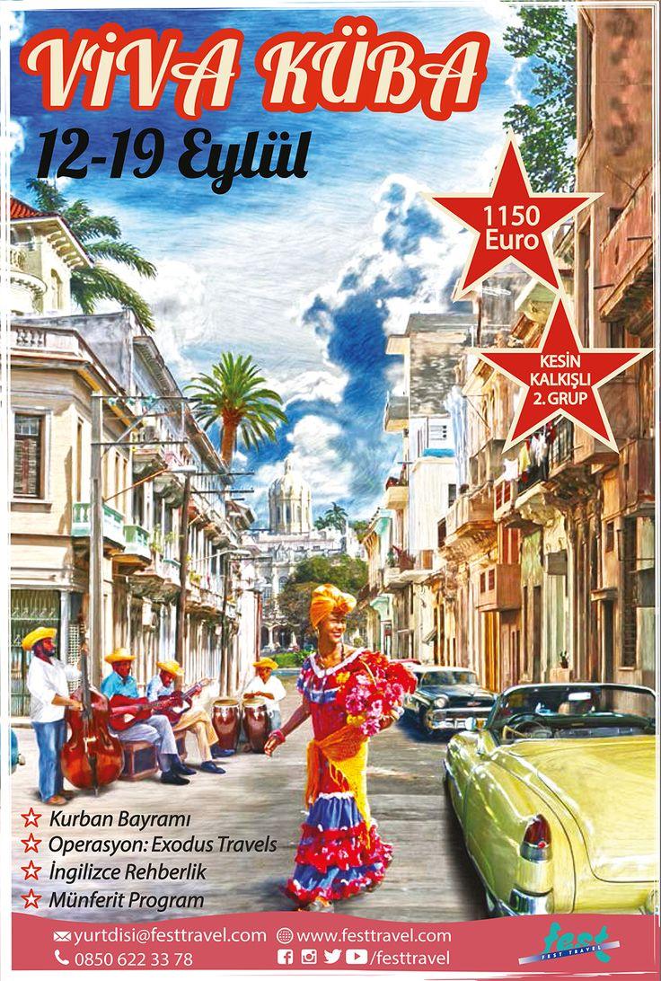 Tarihi merkezleriyle, geçmişin havasını günümüze taşıyan faytonları ve arabalarıyla, her sokak ve meydanı karnaval alanına çeviren şarkıları ve danslarıyla... Küba!