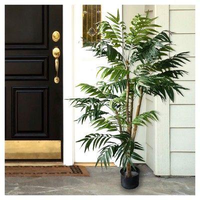 Pure Garden 5' Tropical Palm Artificial Tree, Green