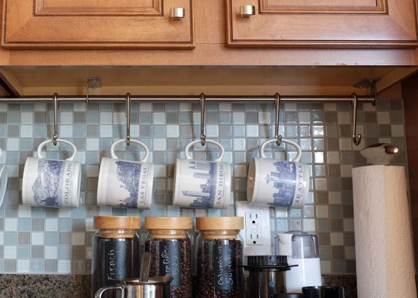 Countertop Coffee Bar Ikea Coffee Mug Storage And Mug