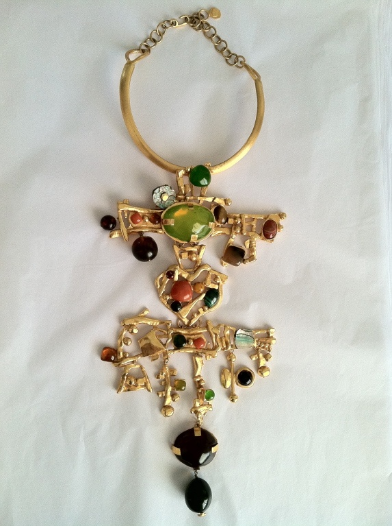 CHRISTIAN LACROIX Iconic Bib Collar Autumn/Winte...