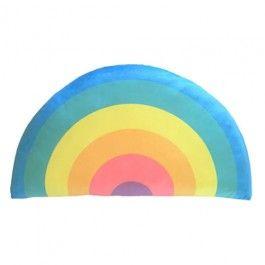 Kids Boetiek Rainbow Cushion - Pastel