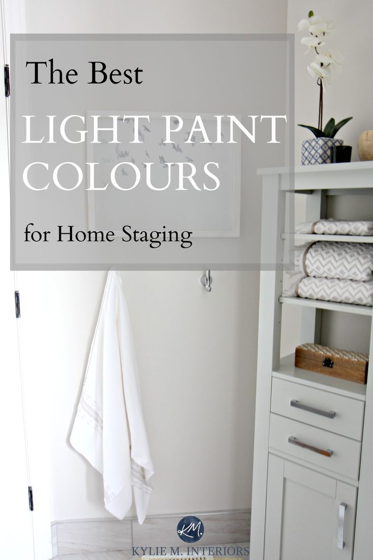 Top 8 light neutral paint colours for home staging for Best paint color for selling home