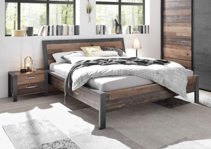 Doppelbett 180 X 200 Cm Michel Angebot 17 Reduziert Old Style Dunkel Betonoxid Mega Mobel Lit Design Salle A Manger Complete Idees Pour La Maison