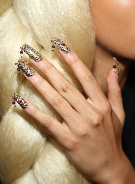 2015 Spring - Summer Nail Polish Trends 10  #nails #3dnails #nail art
