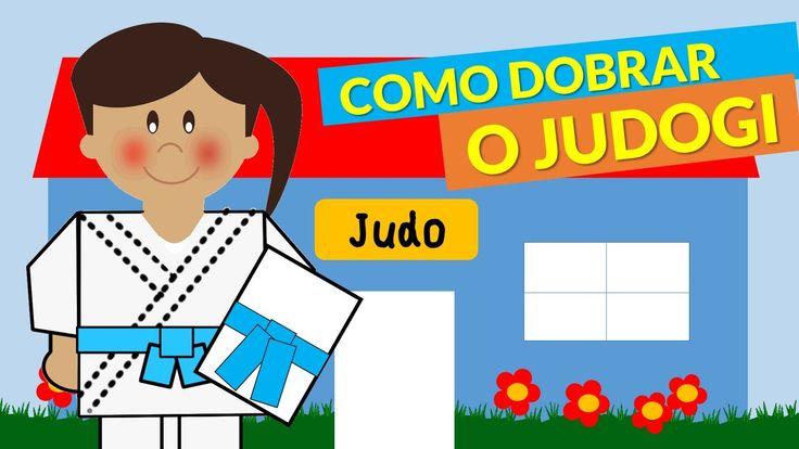 Judoquinhas | Judo Infantil: Como dobrar o Judogi (Kimono do Judô)