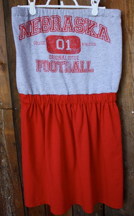 Nebraska Football dress by Jill be Nimble on etsy.