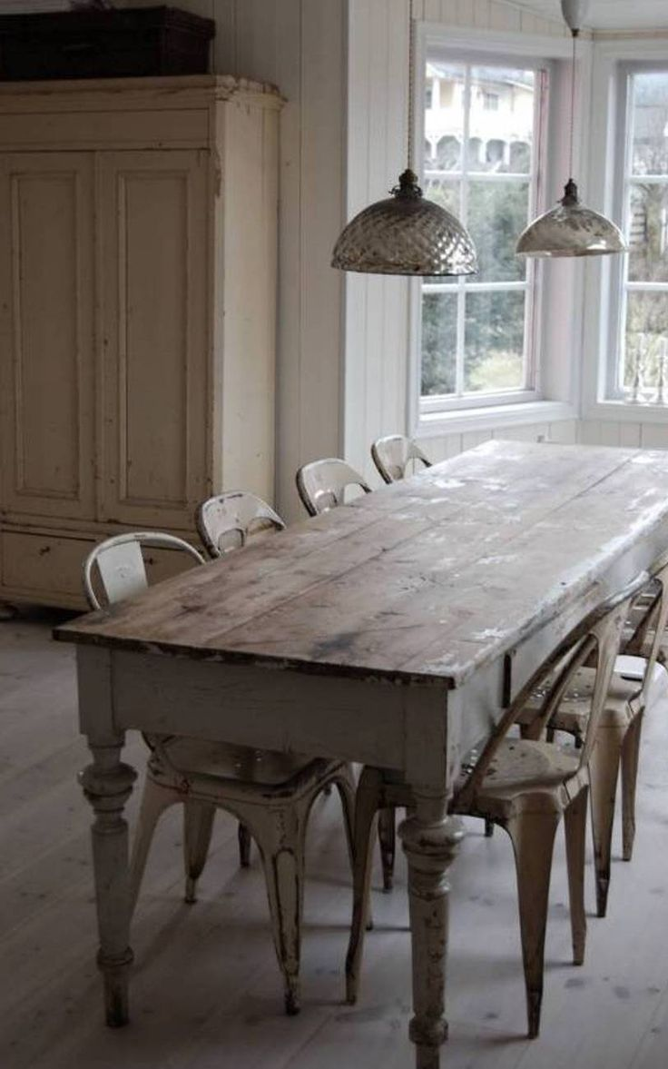 Furniture Farmhouse Table For Dining Room French