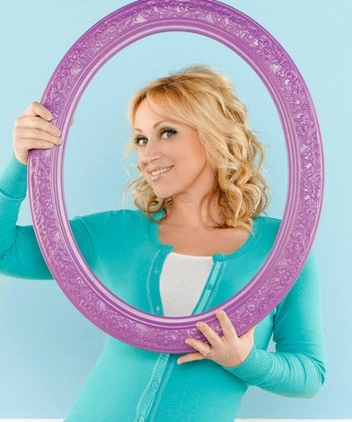 The mom off of Good Luck Charlie is really pretty for her age! Leigh Allyn Baker.