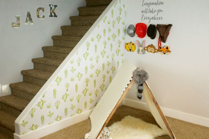 Gorgeous playroom by @theallureavenue featuring our Watercolour Cactus wallpaper! 😍🌵#wallpaper #kidswallpaper #kidsdecor #playroom #playroomdecor #playroominspo #removablewallpaper #selfadhesive #walldecor #cactus #cactuswallpaper