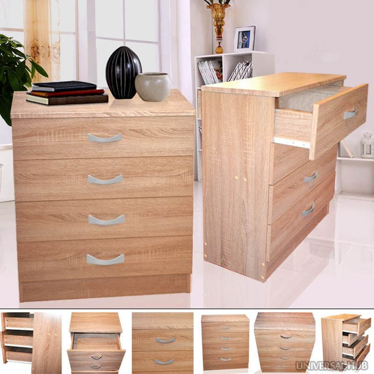 storage unit office. 4 drawer chest storage unit furniture office home bedside wood organiser clothes