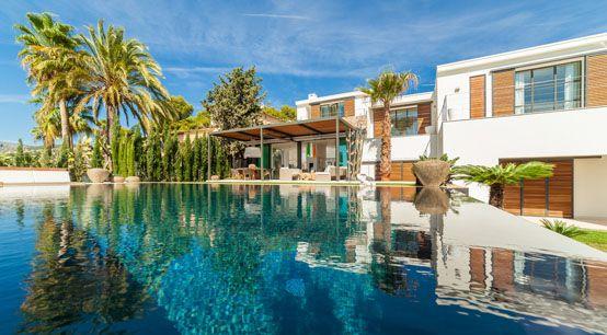 vivienda, decoración, lujo, piscina, diseño, arquitectura, piscina, pasiajismo