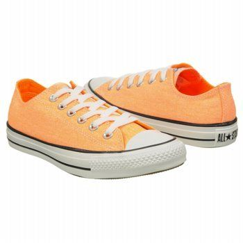 CONVERSE Womens All Star Ox Neon Orange 30 M ** Click affiliate link Amazon.