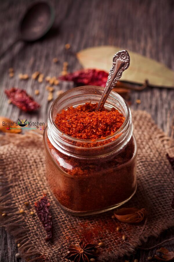 Dabeli Masala Recipe (Kutchi Masala) - Binjal's VEG Kitchen