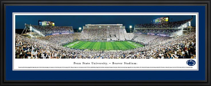 Penn State Nittany Lions Panoramic - Beaver Stadium Picture