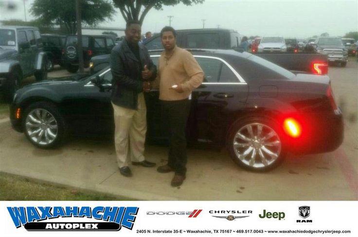 https://flic.kr/p/N4Gu5K | Congratulations Juleius on your #Chrysler #300 from Willard Jordan at Waxahachie Dodge Chrysler Jeep! | deliverymaxx.com/DealerReviews.aspx?DealerCode=F068