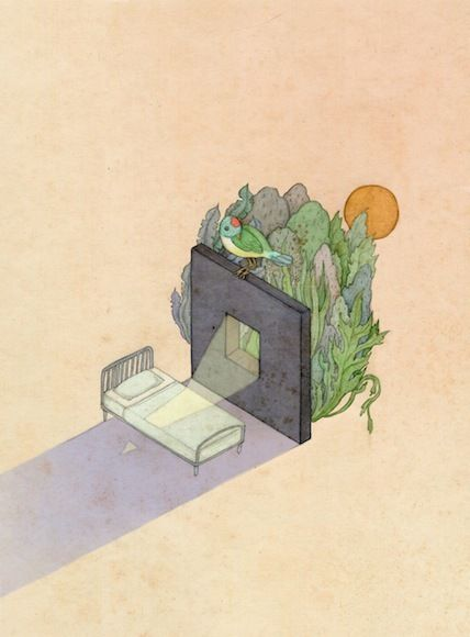 editorial illustrations 2014 by whooli chen, via Behance