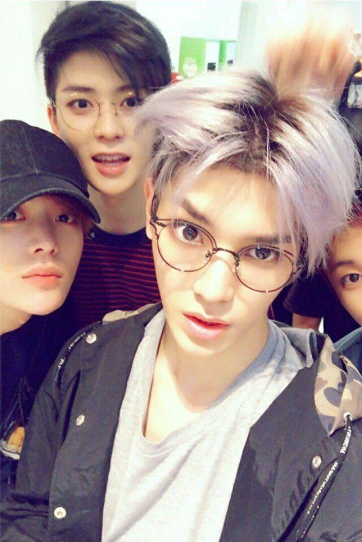 Taeyong. Jaehyun. Yuta. Mark. #NCT