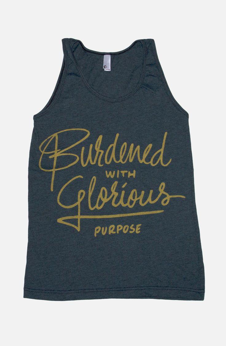 Burdened With Glorious Purpose Tank | Loki Shirt