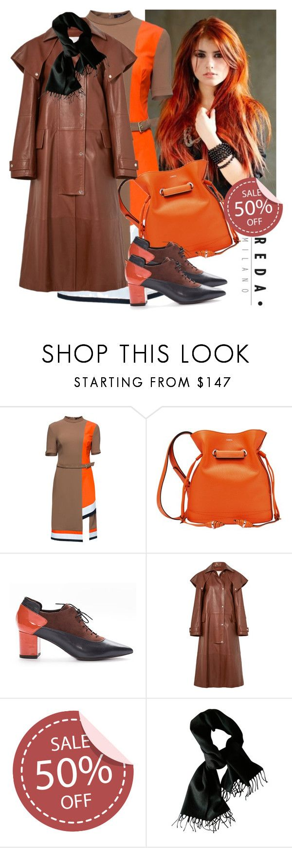 """Reda Milano Fashionable Woman's Shoes"" by irinavsl ❤ liked on Polyvore featuring Lattori, Lancel, Calvin Klein 205W39NYC and Prada"
