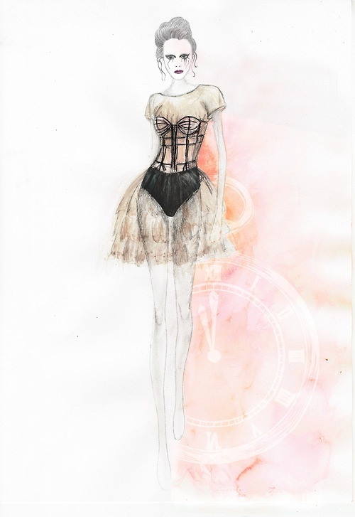 Beautiful. Love how they did the design more transparent, with the underwears as well.