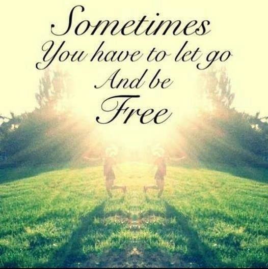 Sometimes you have to let go and be free http://xabid.com