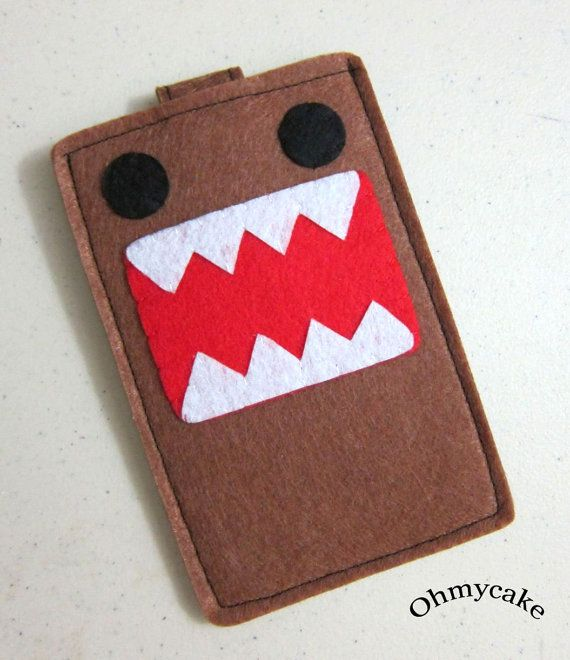 Brown Monster Felt Sleeve