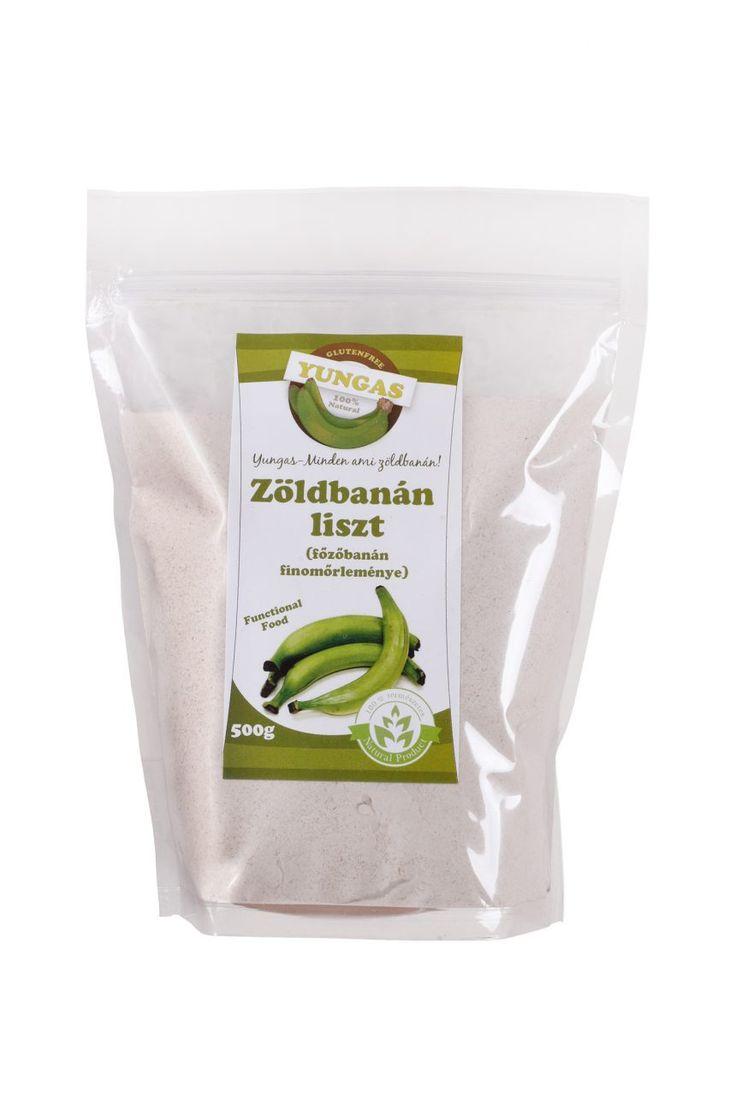 Zöldbanán-liszt a különleges és egészséges gasztronómiai élményre vágyóknak!  http://glutenmentes-paleoliszt.hu/termek/zoldbanan-liszt