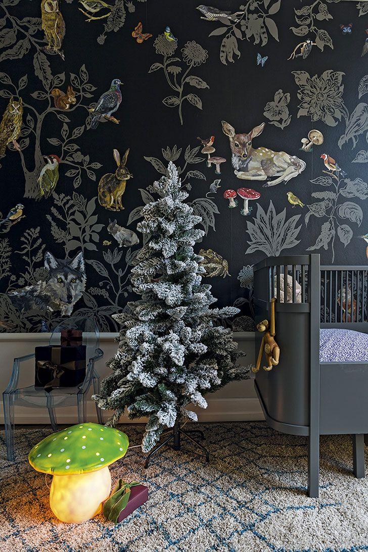 Современная квартира в Дании, одетая в праздничный декор | Пуфик - блог о дизайне интерьера