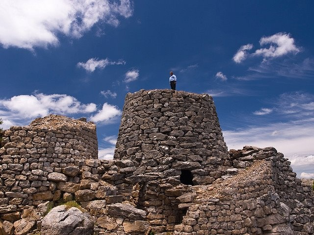 Nuraghe Serbissi, #Osini  #Ogliastra, Sardinia  Ancient stone structures called nuraghi are scattered across the island of Sardinia. Many aspects of the Bronze Age ruins remain a mystery to archaeologists.