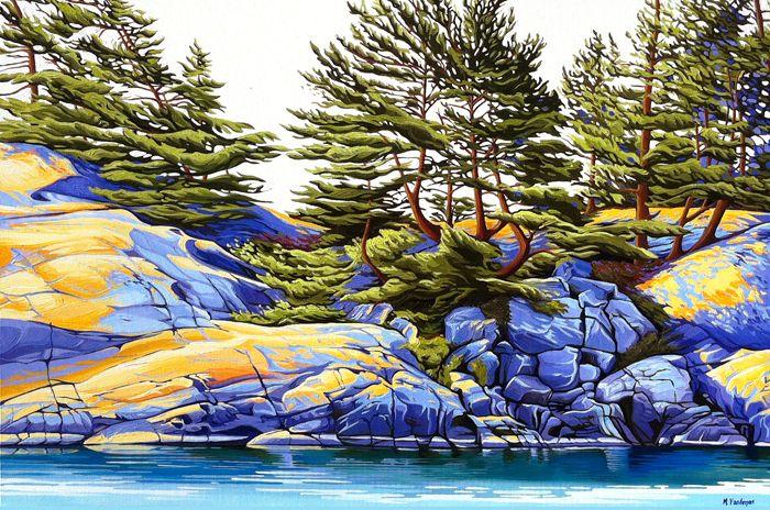 """""""Killarney Shoreline"""" by Margarethe Vanderpas"""