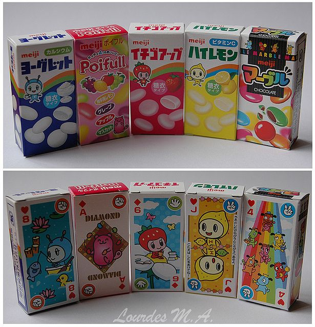 Japanese candies | Flickr - Photo Sharing!