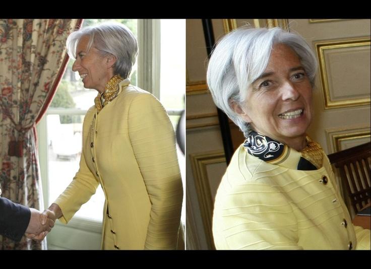 Christine Lagarde's Proudly Parisian Style (PHOTOS, POLL ...