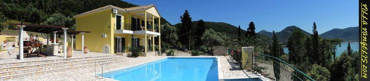 Totally Secluded 3 Bed Villa with HUGE, VERY Private pool, Geni Village. around nidri