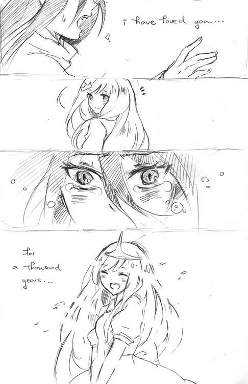 A thousand years - Bubbline Comic pt 2 of 3