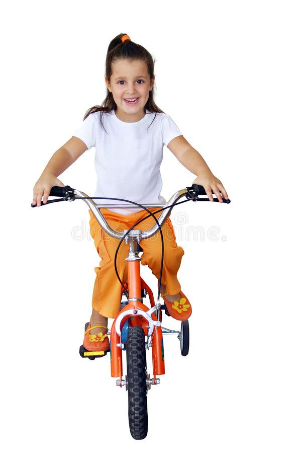 Child Riding A Bike In Summer Park Little Girl Learning To Ride A Bicycle Without Training Wheels Kindergarten Kid O Kindergarten Kids Kids Ride On Bike Ride