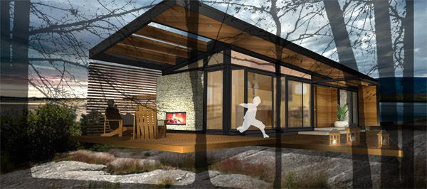 Karo Cabins. Eco Friendly Pre Fab Homes And Cabins.