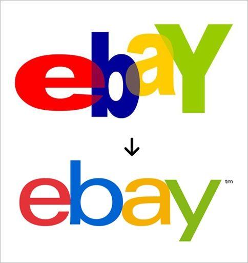 #eBay Tones Down Its original Logo