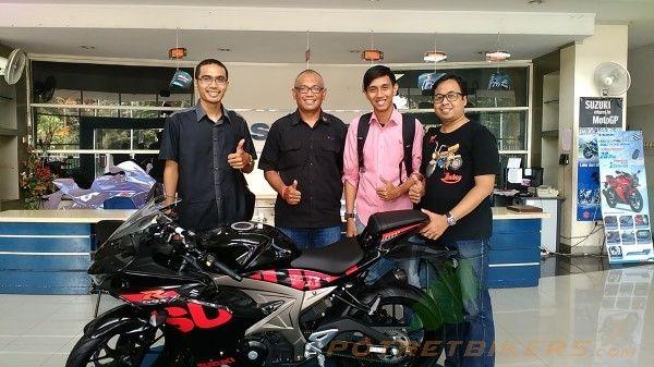 First Ride Impression Suzuki GSX R 150 - 2017