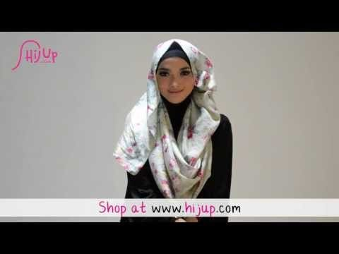 ▶ Hijab Tutorial Style 51 by HijUp.com - YouTube