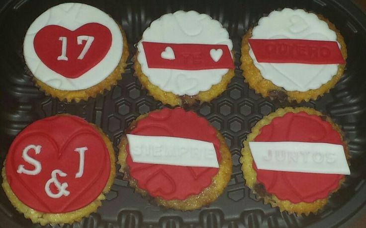 Cupcakes de sabores variadss para su chico!!