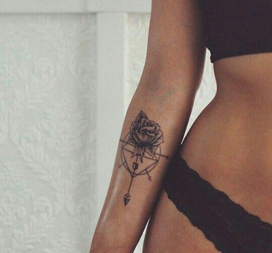 Resultado de imagem para tatuagem antebraço feminina