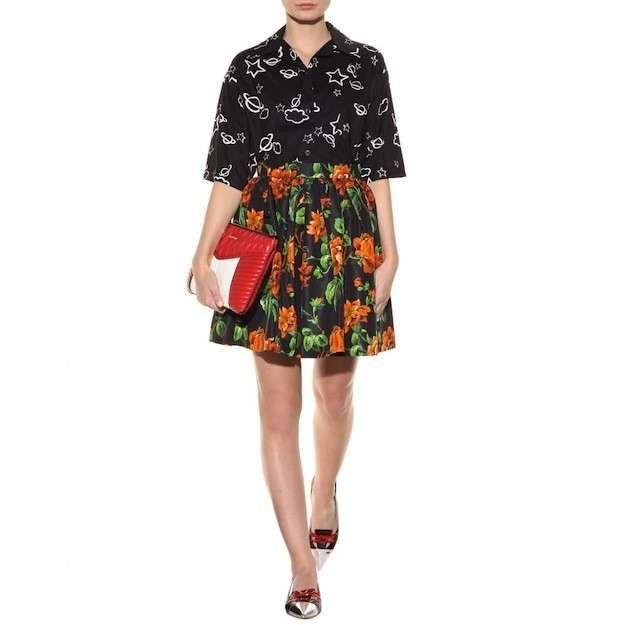 Faldas años 50: Fotos de los modelos - Miu Miu falda flores