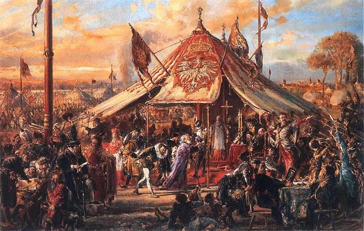 """Royal elections in Poland - Polish: wolna elekcja, literally: free election - was the election of individual kings, rather than of dynasties, to the Polish throne. Based on traditions dating to the very beginning of the Polish statehood, strengthened during the Piast and Jagiellon dynasties, they reached their final form in the period of the Polish-Lithuanian Commonwealth between 1572 and 1791. The """"free election"""" was abolished by the Constitution of May 3, 1791.    The tradition of…"""