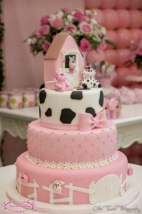 Girl Farm Cake                                                                                                                                                                                 More